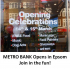 METRO BANK Opens in Epsom – sneak preview before the official launch later today @Metro-Bank