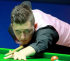 Kyren Wilson from Kettering playing in the World Snooker Championships.
