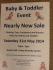 Nearly New Sale- Baby & Toddler Event