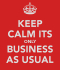 You've never heard of Business Continuity?