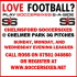 6aside Mens Football In Chelmsford at Chelmer Park 3G
