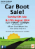 Darton College Car boot sale
