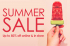 The Cure Summer Sale!