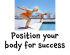 Live and enjoy life by being active – so position your body for success @ewellchiros