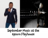 September Music At The Epsom Playhouse @EpsomPlayhouse