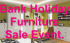 Bank Holiday Furniture Sale Event.