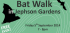 Bat Walk in Jephson Gardens