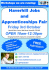 Haverhill Jobs and Apprenticeships Fair