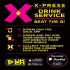 Priority: X-Press Drinks Service Launch Party