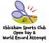 Badminton open day and world record attempt Ebbisham Sports Club Epsom @epsomewellbc
