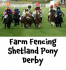Shetland Pony Derby at Family Fun Day at Epsom Racecourse @jonthefence #loveponies