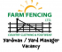 Yardman/ Yard Manager Vacancy at Farm Fencing Tadworth @jonthefence @countrycstore #epomjobs