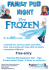Frozen Family Pub Night