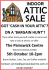 Attic Sale – 5th October 10am-2pm at The Painswick Centre