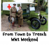 WW1 Weekend at Bourne Hall Ewell @epsomewellbc #WW1 @10thessex
