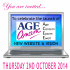 Launch of new website invitation from Age Concern Epsom @ageconcernepsom @epsomlibrary