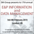 17th annual EandP Information and Data Management