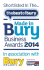 Finalists are announced for the Made in Bury Business Awards 2014!