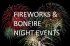 Fireworks and Bonfire Night: Upton Park, Slough