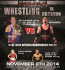 UBW Wrestling comes to Royston!