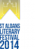 The Inaugural St Albans Literary Festival 2014