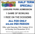 Dodgems, bowling and half term :-)