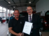 Excellence award for BCC Bury Citroen team member Rick