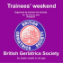 BGS Trainees Weekend 2015