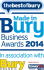 The success of local businesses at The Made in Bury Business Awards 2014