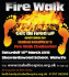 Firewalk Event Sherrardswood School Welwyn Garden City