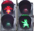 GENDER FUN 'N' GAMES AT THE TRAFFIC LIGHTS . . . .