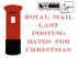 Royal Mail Christmas postage dates 2014