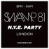 Swamp81 - NYE 2014 at East London Warehouse TBA