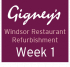 Gigney's Restaurant Windsor - Week 1 of Renovation