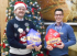 Shrewsbury health club gives christmas hampers boost for local families