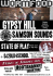 Wormfood @ Hootananny: Gypsy Hill, Samson Sounds, State of Play
