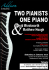 Concert - Two Pianists, One Piano!