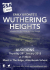 Wuthering Heights Auditions