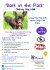 'Bark in the Park' Charity Dog Walk