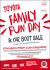 Toyota Family Fun Day & Car Boot 8 March Epsom