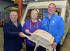 Salop Leisure employee bowled over by wheelbarrow gift