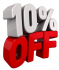 10% Off Discount Sale Days