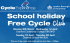 Free Easter School holiday Cycle Club in Cranford