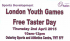 London Youth Games free taster day in Osterley