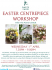 Exeter Centrepiece Workshop