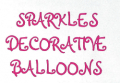 Sparkles Decorative Balloons