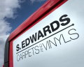 S. Edwards Carpets & Vinyls Logo