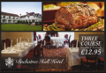Sunday Lunch at Buckatree Hall Hotel