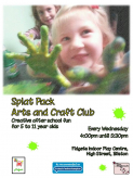 Children's Arts and Craft Club - 4 to 11 years