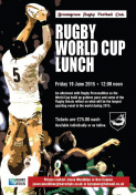 Bromsgrove Rugby Club - World Cup Lunch
